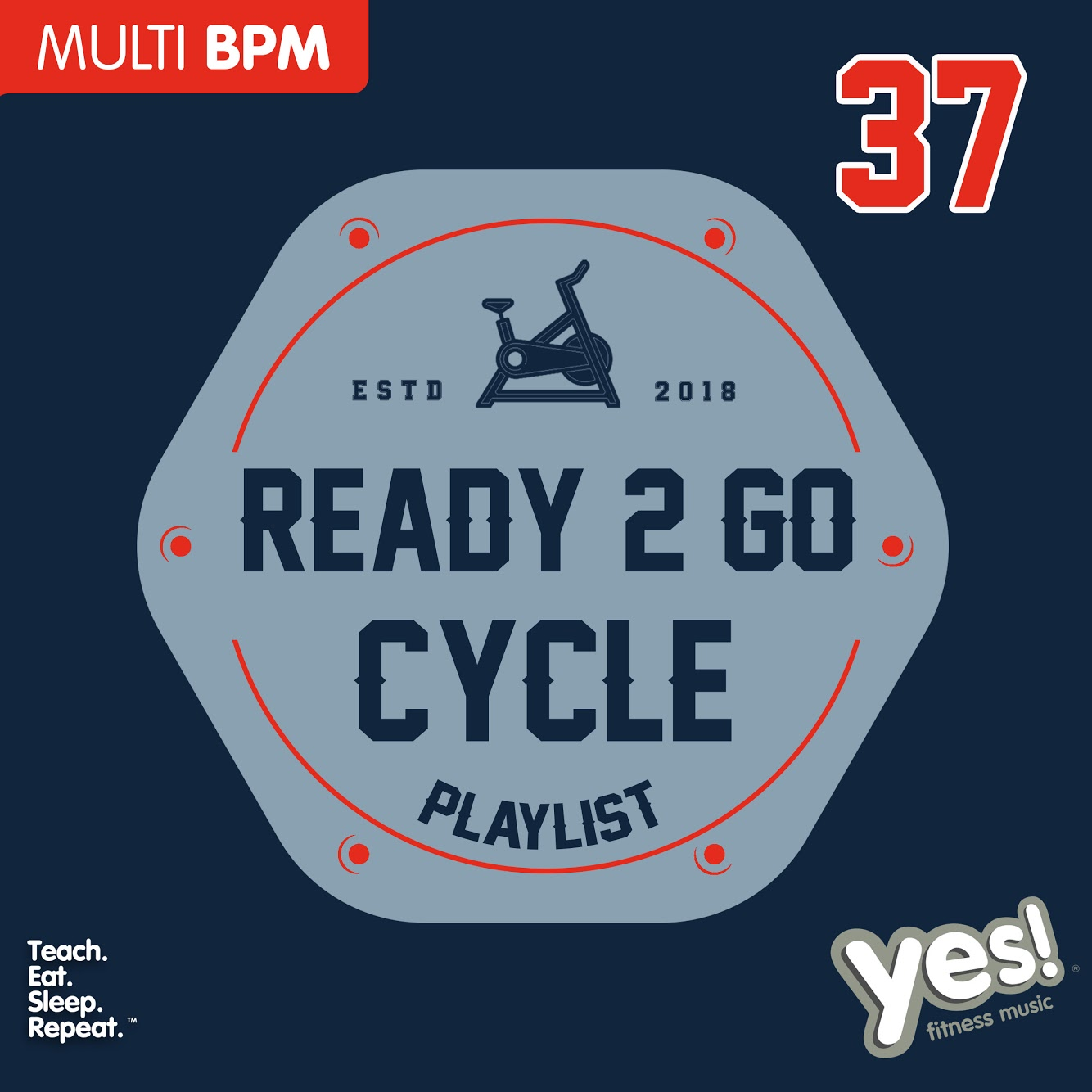 Ready 2 Go Cycle Playlist 37 : Yes! Fitness Music